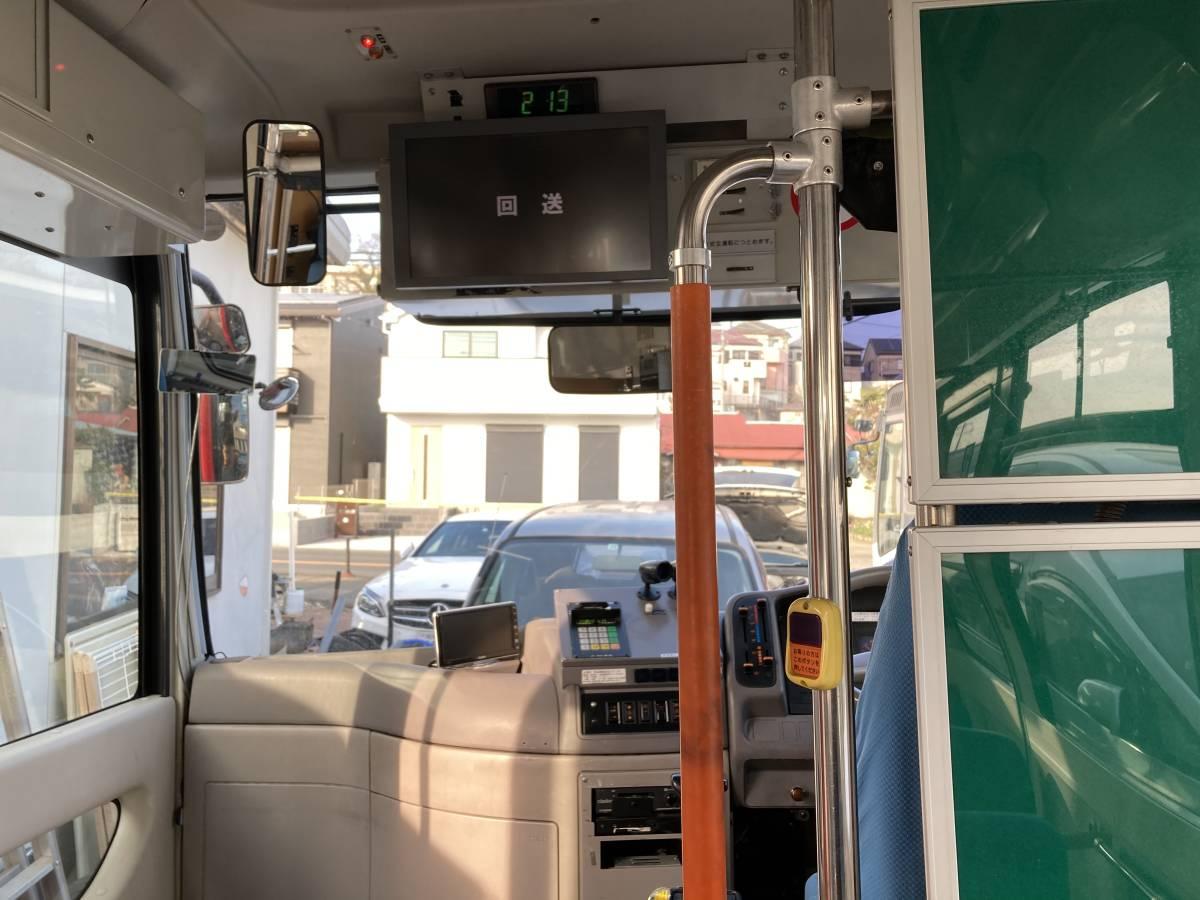 「H21 日野 ポンチョ HX6JLA 路線 バス AT 2ドア 7M 軽油 事業用 LED 検査付 絶好調」の画像2