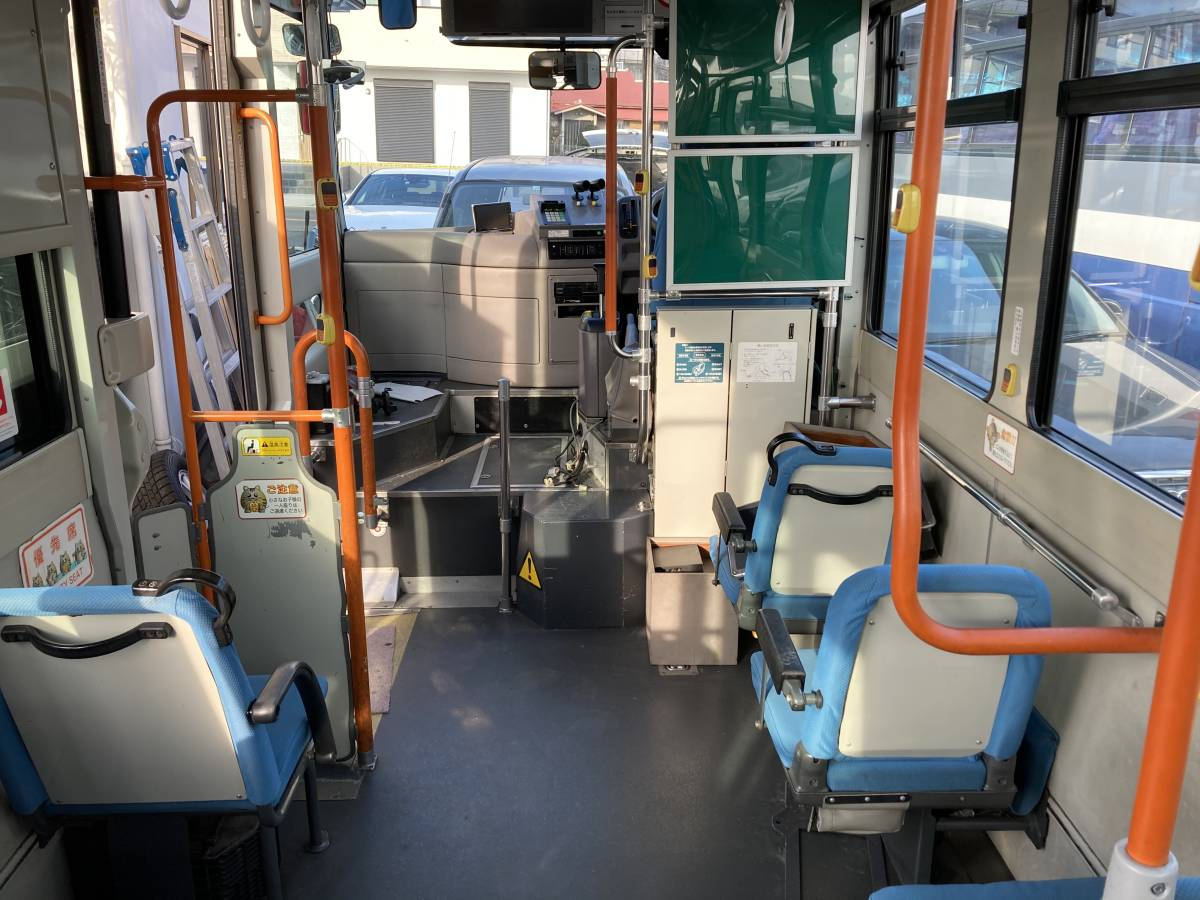 「H21 日野 ポンチョ HX6JLA 路線 バス AT 2ドア 7M 軽油 事業用 LED 検査付 絶好調」の画像3