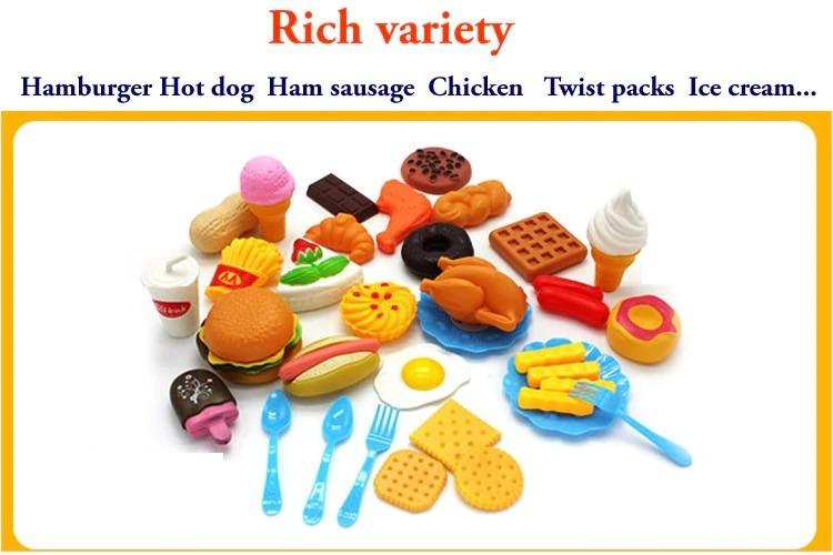 おままごと 子ども 男の子 女の子 おもちゃ キッチン ハンバーガー プレゼント ab1392_画像4