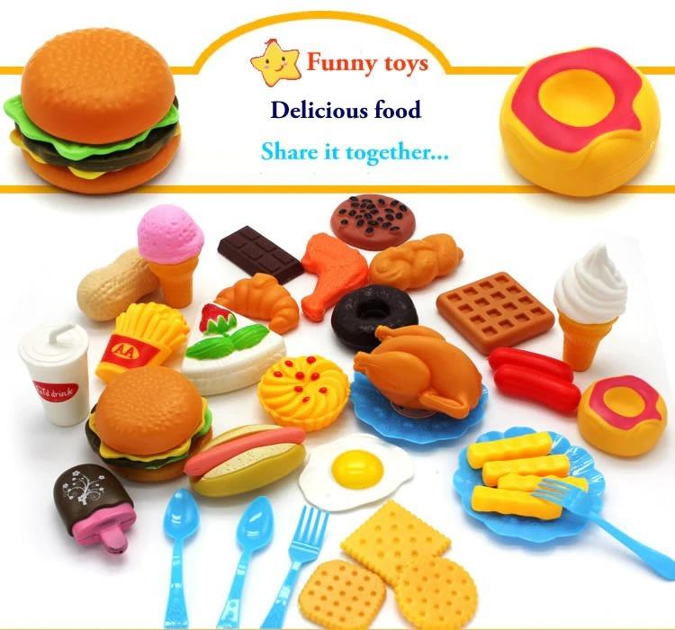 おままごと 子ども 男の子 女の子 おもちゃ キッチン ハンバーガー プレゼント ab1392_画像5