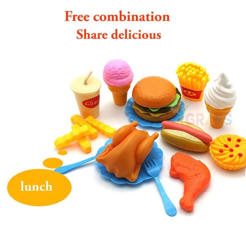 おままごと 子ども 男の子 女の子 おもちゃ キッチン ハンバーガー プレゼント ab1392_画像7