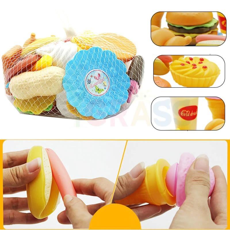おままごと 子ども 男の子 女の子 おもちゃ キッチン ハンバーガー プレゼント ab1392_画像6