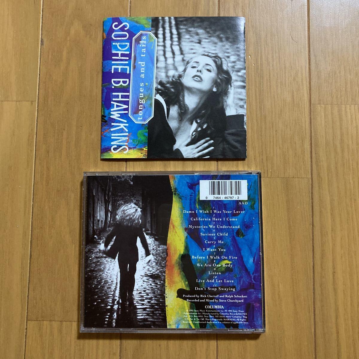 ◯《輸入盤》【ソフィー・B. ホーキンス】『tonges and tails』CD☆_画像2