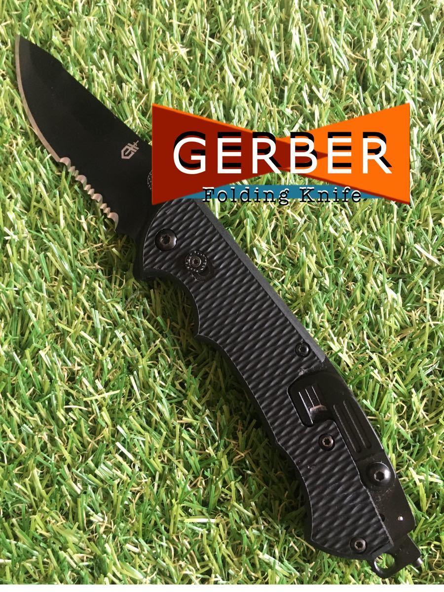 PayPayフリマ限定価格 #501 GERBER FOLDING KNIFE ガーバー  フォールディングナイフ