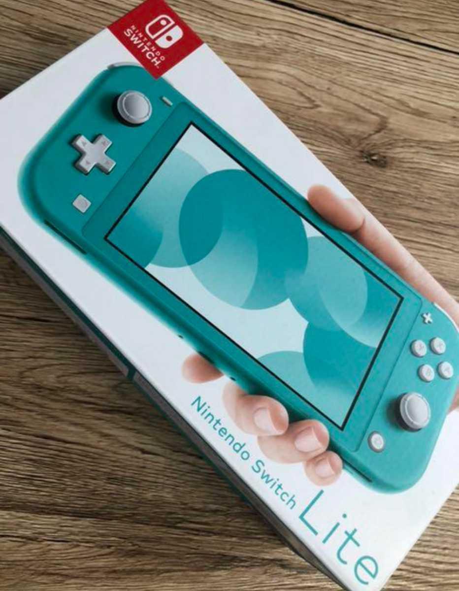 送料無料 新品未開封 ニンテンドー スイッチ ライト 本体 ターコイズ 国内正規品 Nintendo Switch 保証あり