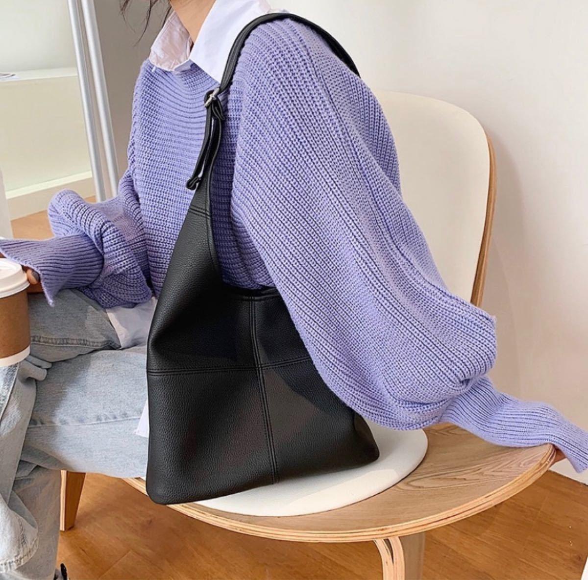トートバッグ ハンドバッグ ビジネス カジュアル エコバッグ PUレザー エコレザー フェイクレザー ショルダーバッグ 鞄