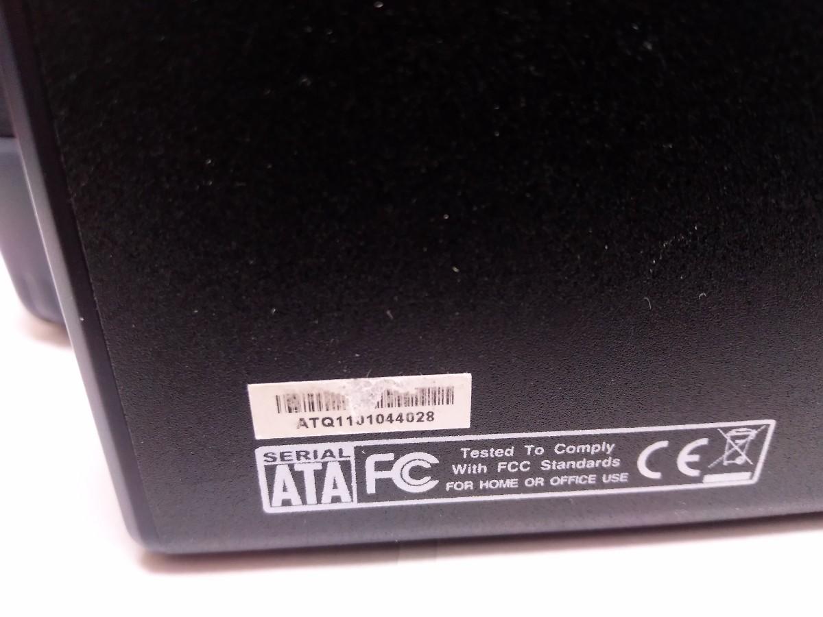 【USB HDD 2.0TB】3.5inch外付けハードディスク