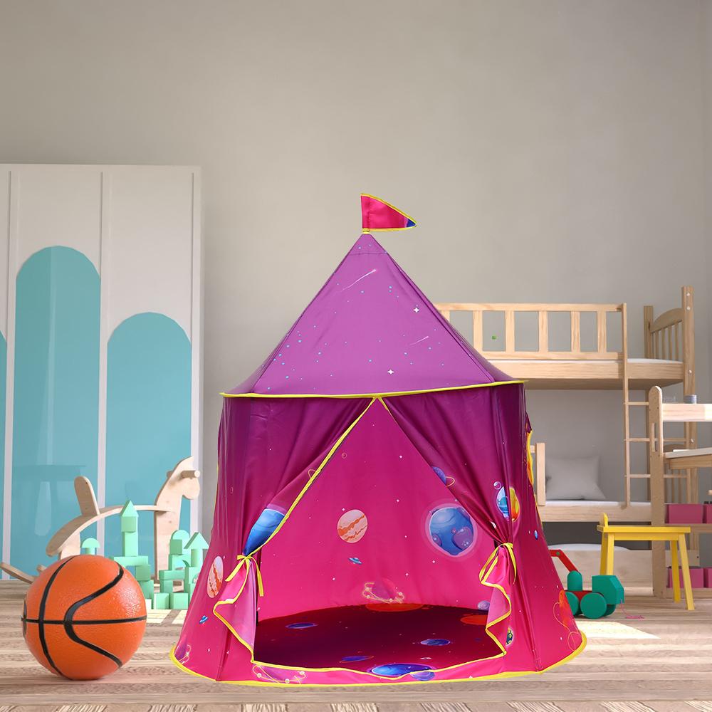 折り畳み 子供 遊び プリンセス城 屋外 ルーム 装飾 おもちゃ 女の子 maigic House 2 テント キャンプ アウトドア_画像1