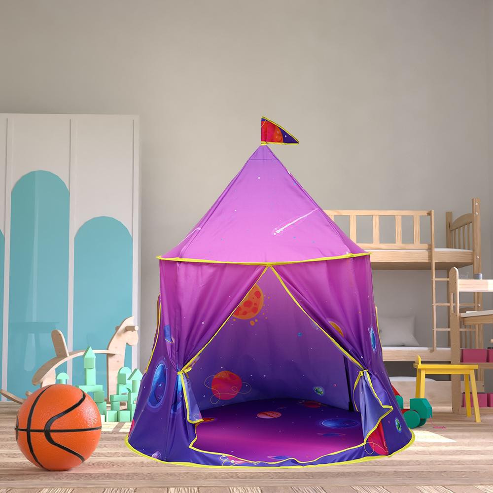 折り畳み 子供 遊び プリンセス城 屋外 ルーム 装飾 おもちゃ 女の子 maigic House 5 テント キャンプ アウトドア_画像1