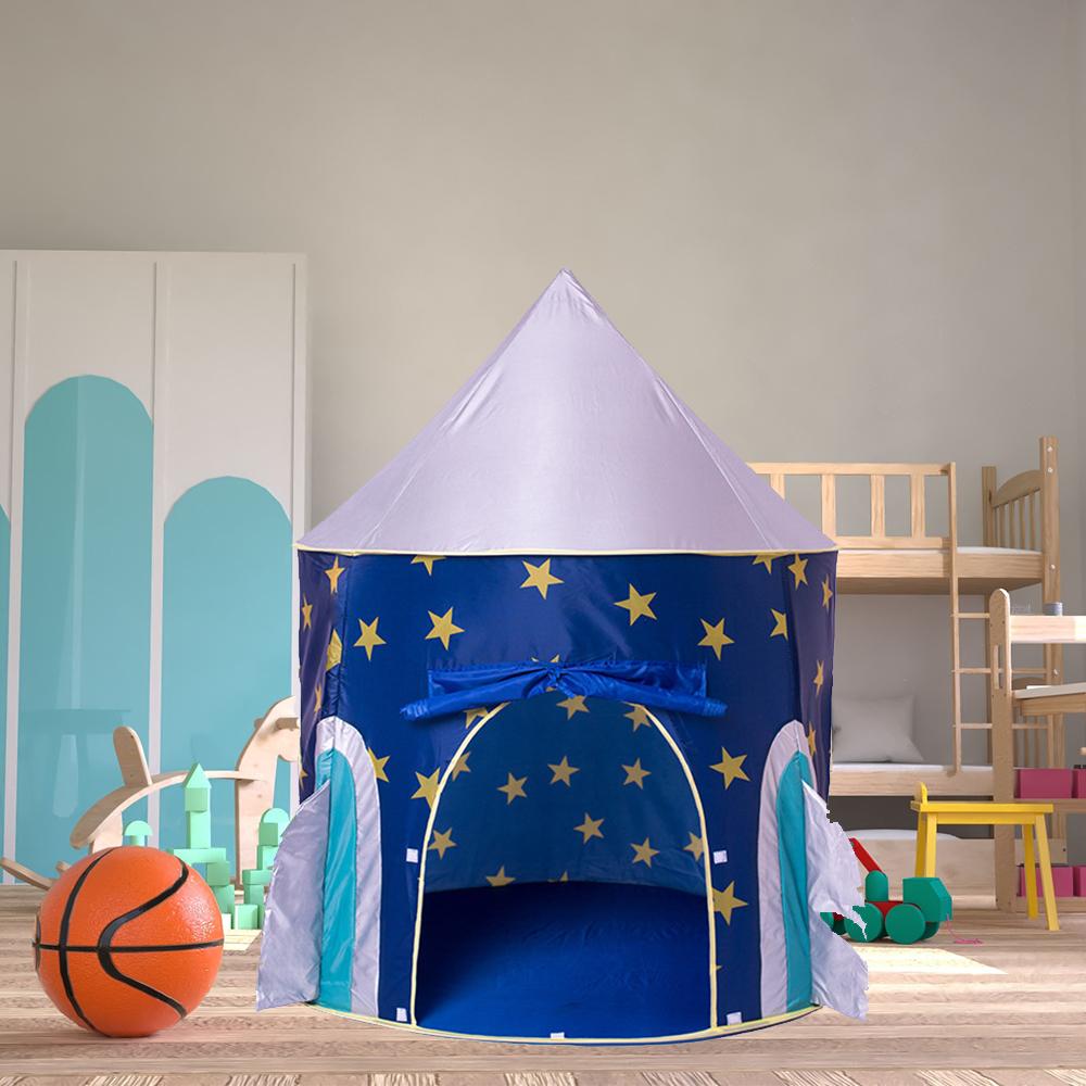 折り畳み 子供 遊び プリンセス城 屋外 ルーム 装飾 おもちゃ 女の子 Space capsule テント キャンプ アウトドア_画像1