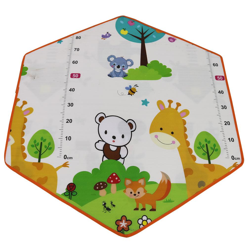 折り畳み 子供 遊び プリンセス城 屋外 ルーム 装飾 おもちゃ 女の子 Animal mat 2 テント キャンプ アウトドア_画像1