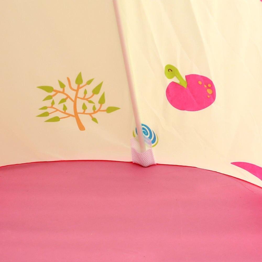 子供 ティピ キッズ 屋内 ベッド 家 ポータブル リトル ハウス ティーピー GR0023A青 テント キャンプ アウトドア_画像6