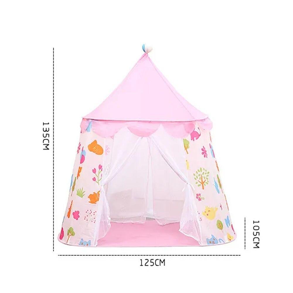 子供 ティピ キッズ 屋内 ベッド 家 ポータブル リトル ハウス ティーピー GR0023A青 テント キャンプ アウトドア_画像7