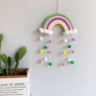 折り畳み 子供 遊び プリンセス城 屋外 ルーム 装飾 おもちゃ 女の子 Rainbow pendant テント キャンプ アウトドア_画像1