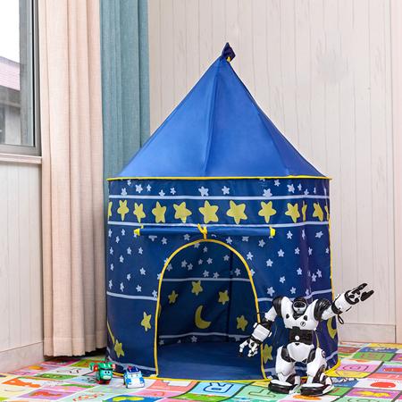 ポータブル 子供 プリンセス 城 小さい ハウス 屋内 屋外 赤ちゃん ティーピー QC0058B テント キャンプ アウトドア_画像1