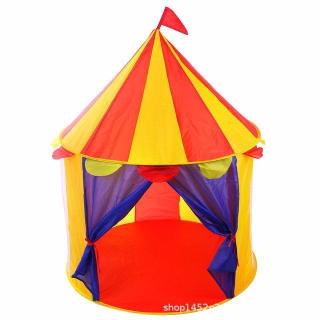 折り畳み 子供 遊び プリンセス城 屋外 ルーム 装飾 おもちゃ 女の子 castle テント キャンプ アウトドア_画像1