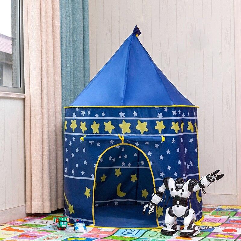 ポータブル 子供 プリンセス 城 小さい ハウス 屋内 屋外 赤ちゃん ティーピー QC0031CAImK テント キャンプ アウトドア_画像2