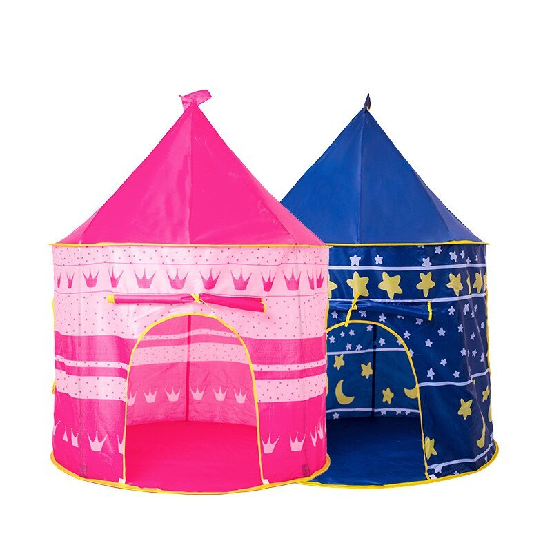 ポータブル 子供 プリンセス 城 小さい ハウス 屋内 屋外 赤ちゃん ティーピー QC0031CAImK テント キャンプ アウトドア_画像4