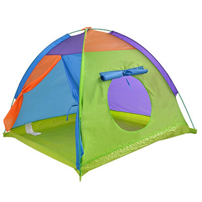 ポータブル 子供 ウィグワム 大 ティピ 赤ちゃん 屋外 防水 プレイ リトル ハウスティーピー キッズ GR0028緑 テント キャンプ アウトドア_画像1