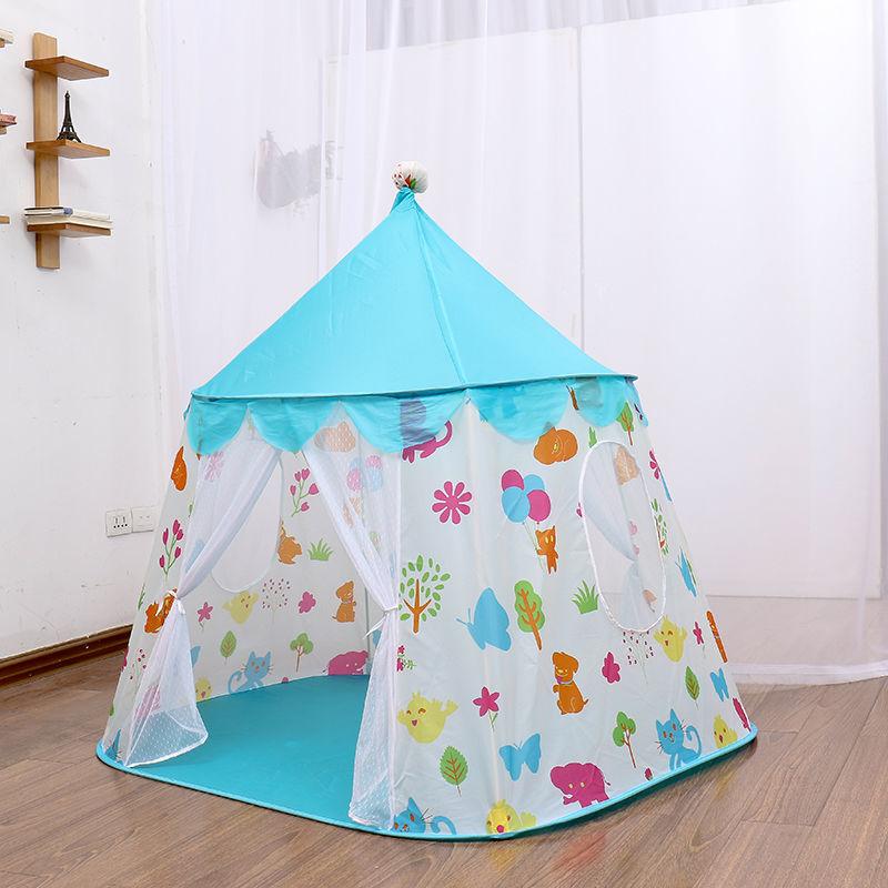 子供 ティピ キッズ 屋内 ベッド 家 ポータブル リトル ハウス ティーピー GR0025flag1 テント キャンプ アウトドア_画像3