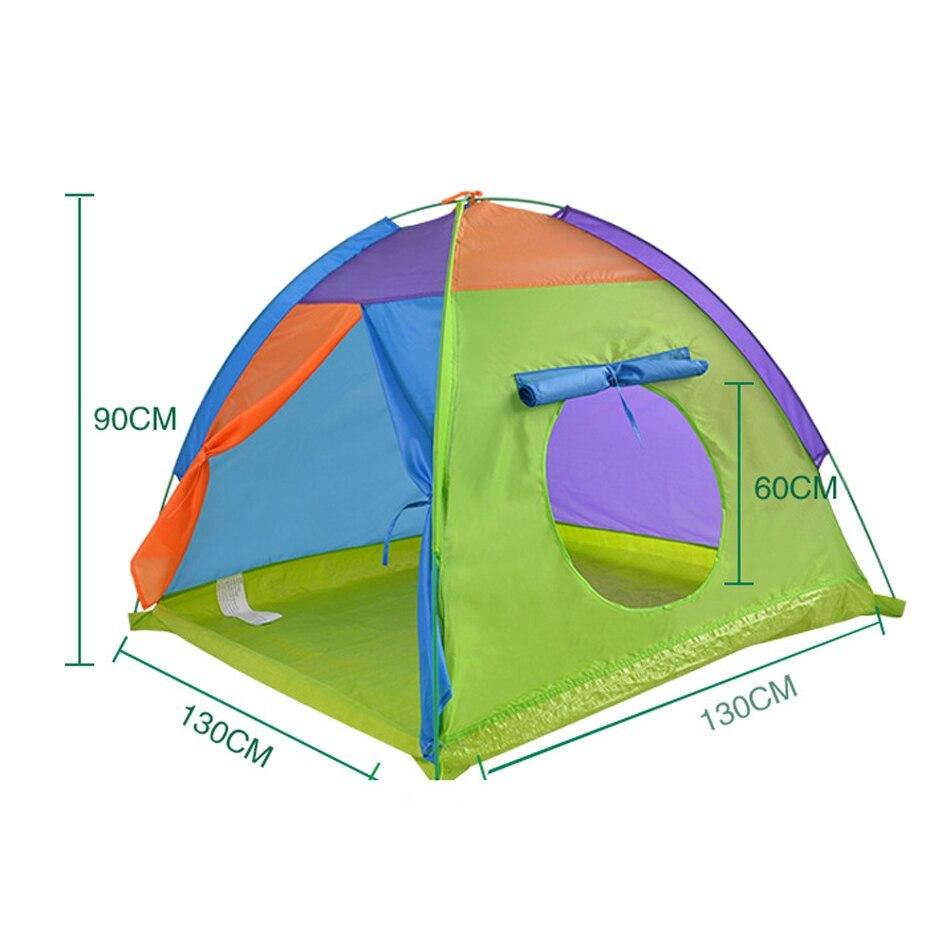 ポータブル 子供 ウィグワム ティピ 赤ちゃん 屋外 防水 プレイ リトル ハウスティーピー GR0019macaron テント キャンプ アウトドア_画像7