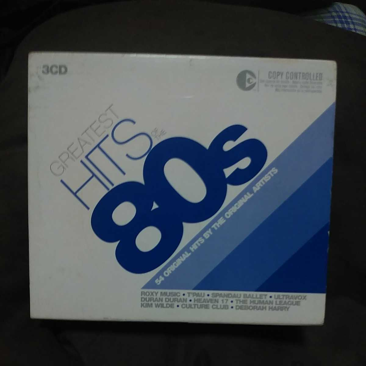 『GREATEST HITS 80's』DURAN DURAN/ULTRA VOX/BILLY IDOL/CULTURE CLUB/ROXY MUSIC/KAJAGOOGOO/THE SPECIALS/BLONDIE 他