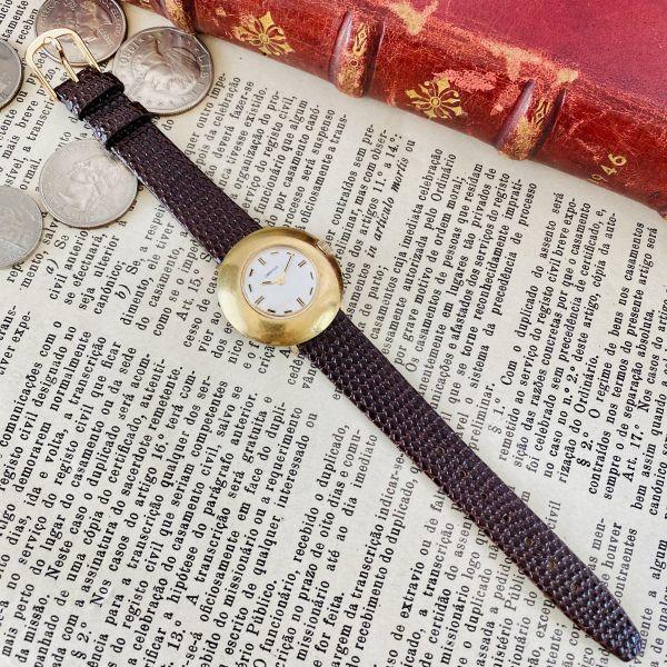 【高級腕時計キャラベル】Caravelle 1970年代 手巻き 17石 スイス メンズ レディース アンティーク ビンテージ アナログ 腕時計_画像7