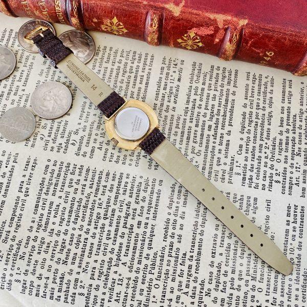 【高級腕時計キャラベル】Caravelle 1970年代 手巻き 17石 スイス メンズ レディース アンティーク ビンテージ アナログ 腕時計_画像8