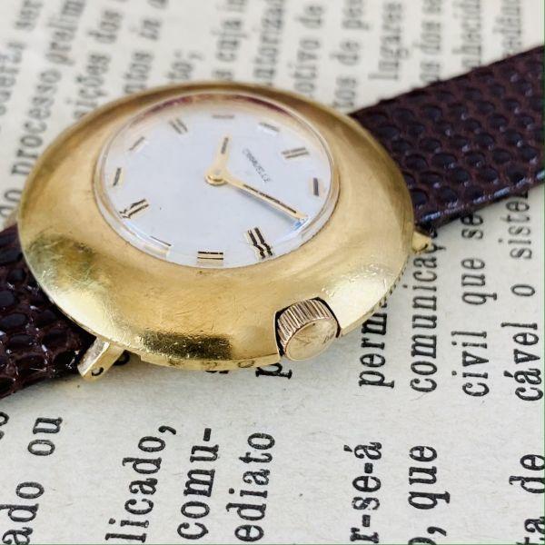 【高級腕時計キャラベル】Caravelle 1970年代 手巻き 17石 スイス メンズ レディース アンティーク ビンテージ アナログ 腕時計_画像4