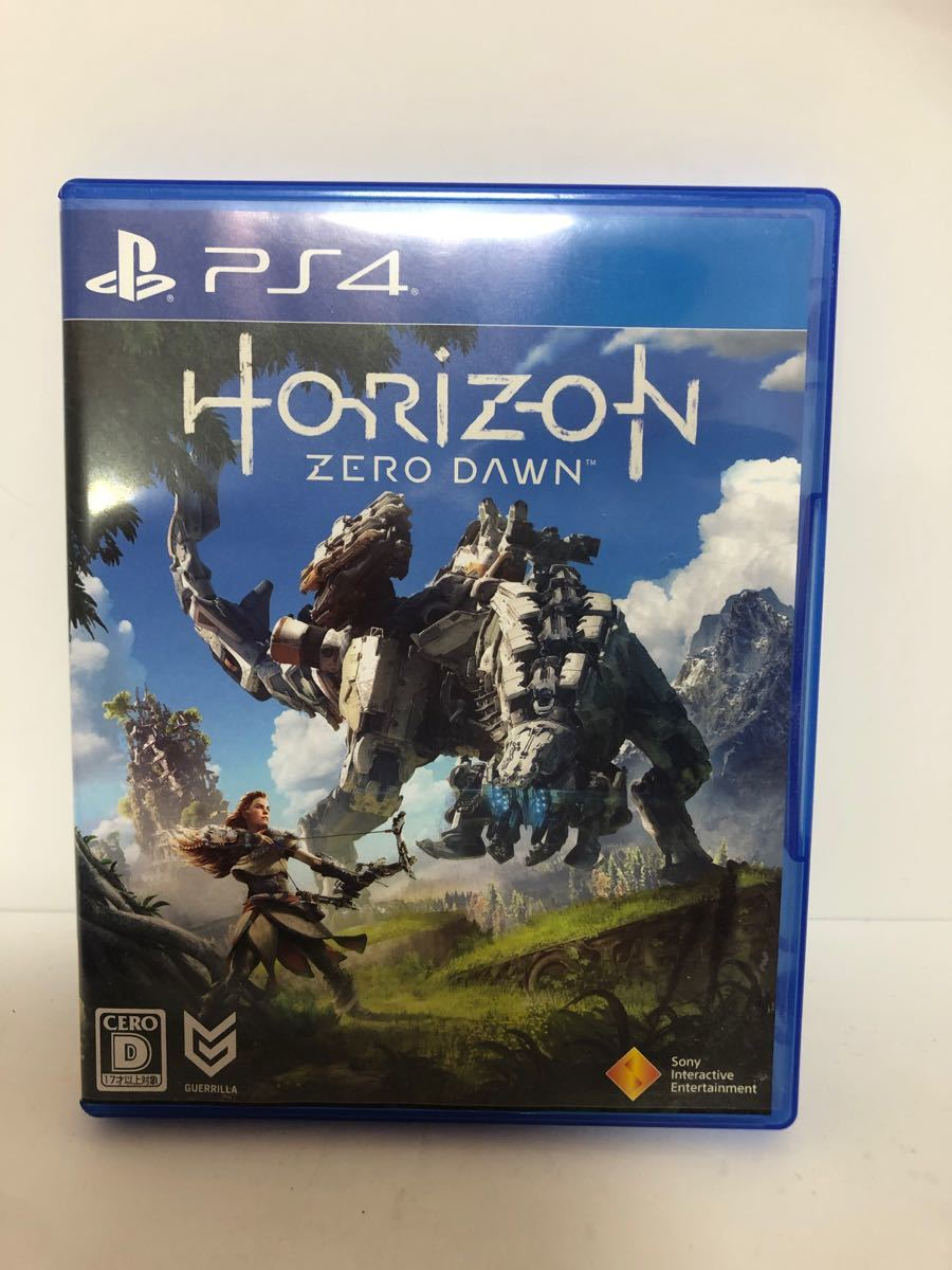 Horizon Zero Dawn ホライゾンゼロドーン PS4 PlayStation4 PS4ソフト プレステ4