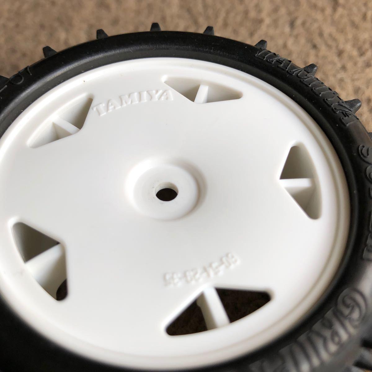 タミヤ DT-02 デザートゲイター タイヤ ホイル サスアーム