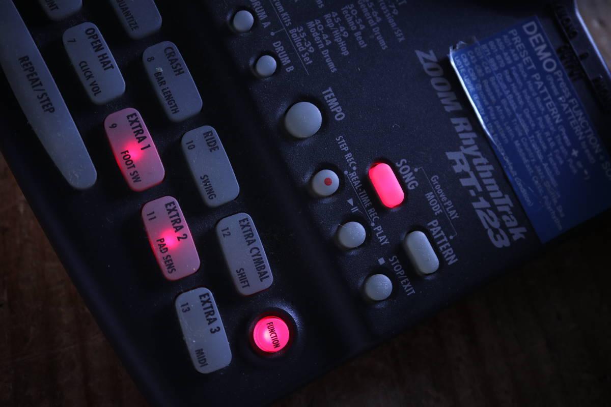 ZOOM RT-123 RhythmTrak 整備済品_画像8