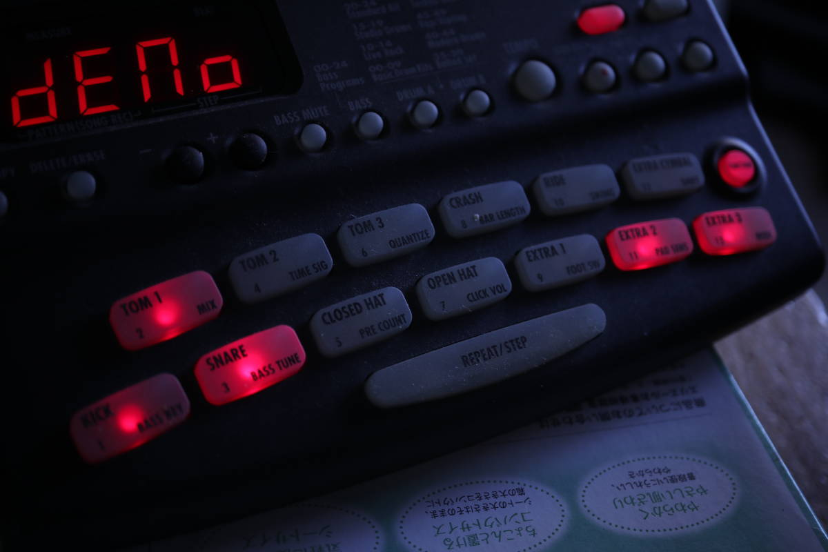 ZOOM RT-123 RhythmTrak 整備済品_画像9