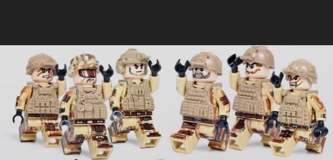 夜戦部隊 武器つきセット 戦争軍人軍隊マンミニフィグ LEGO 互換 ブロック ミニフィギュア レゴ 互換t14_画像2