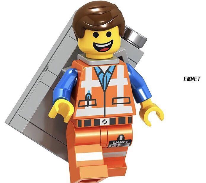 1体  エミット ムービー ミニフィグ LEGO 互換 ブロック ミニフィギュア レゴ 互換 k_画像1