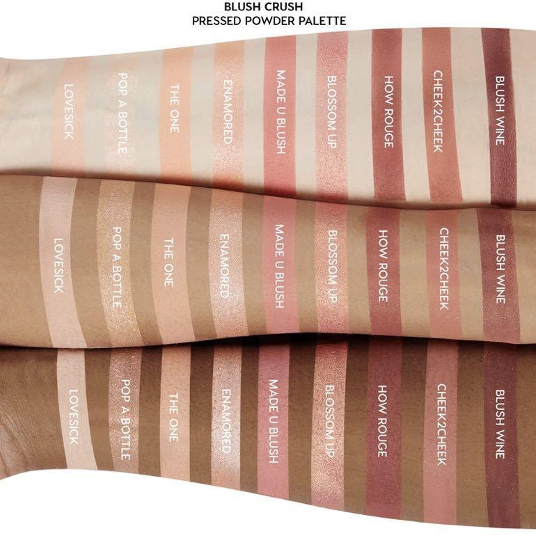 Colour Pop Blush Crush カラーポップ アイシャドウ ピンク ピーチ ニュートラル グリッターアイシャドウパレット