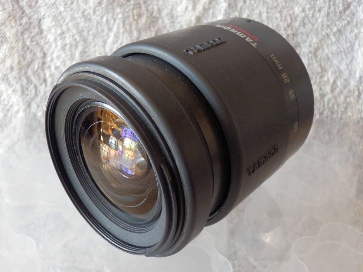一眼レフカメラ用中古レンズ TAMRON AF 28-80mm CANON FEマウント 動作未確認ジャンク_画像2