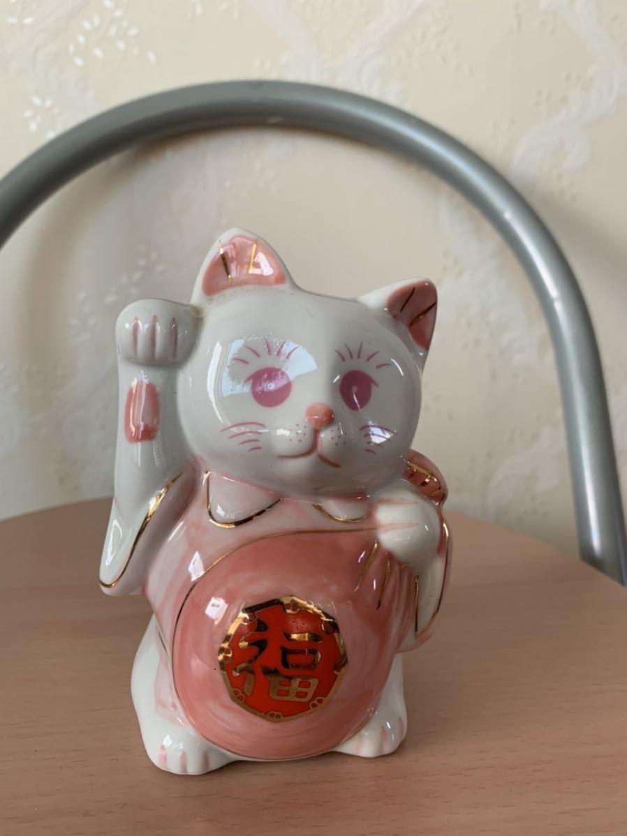 招き猫 開運招福 陶器_画像5