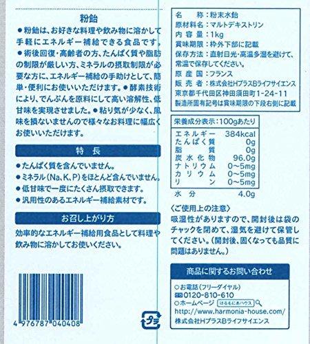 1袋 H+Bライフサイエンス 粉飴顆粒 1kg_画像2