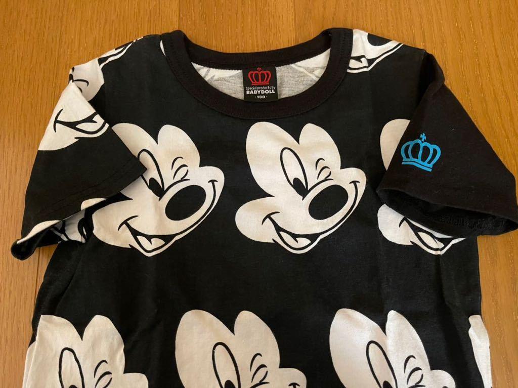【ベビードール 】◆ミッキーマウス ◆ 半袖Tシャツ ◆ サイズ 130_画像2