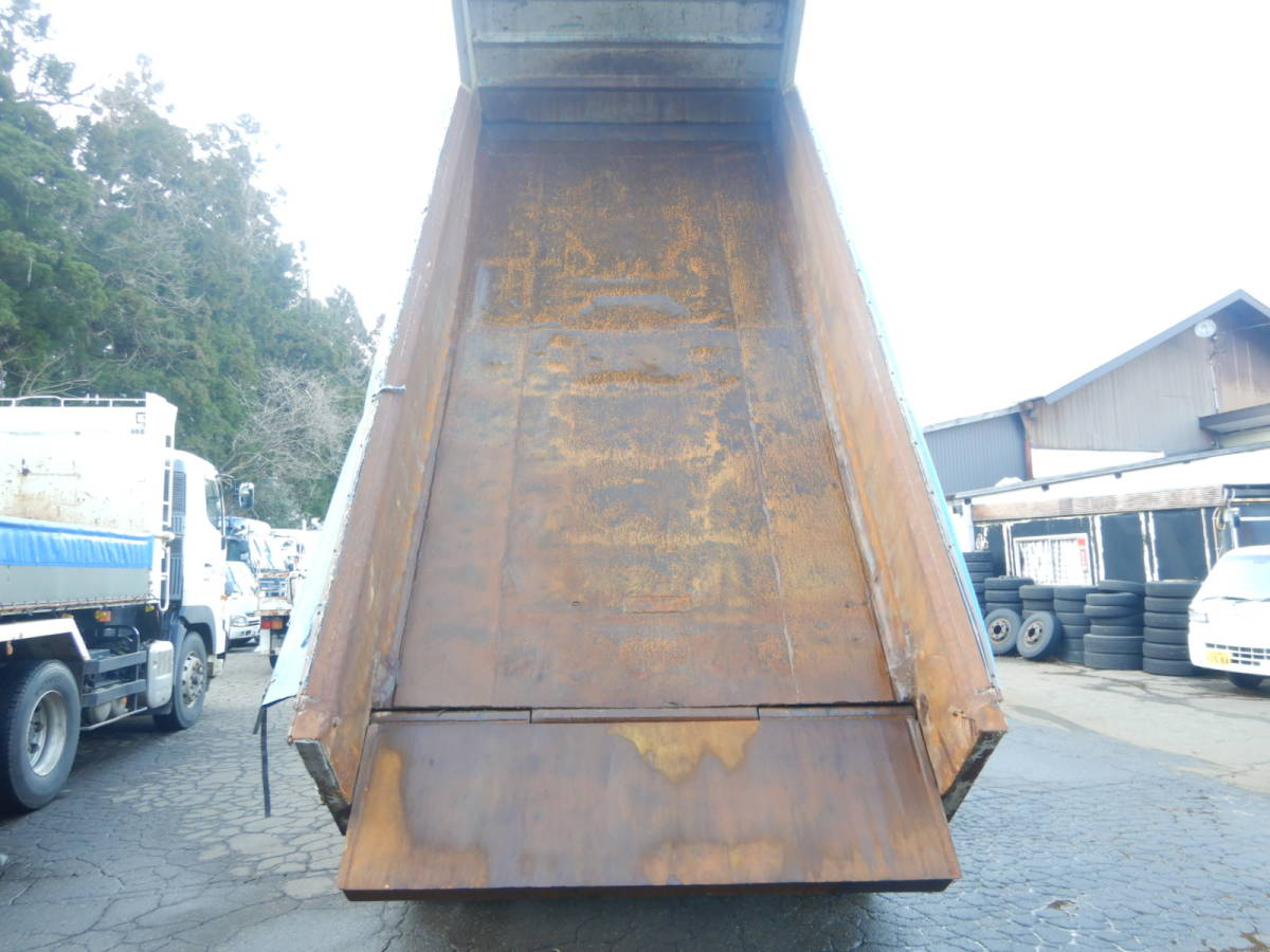 【CH16099】H8年 日野 プロフィア V8 ハイルーフ ダンプ Lゲートダンプ ナンバー付 土砂ダンプ 最大積載量9300kg 税込!_画像5