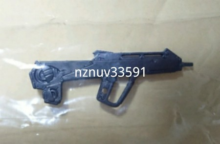 EVA-FRAME01エヴァフレーム武器セット1パレットライフル単品07オプションセットAから(ガトリング砲&輸送台:グリーン無) 対応1 7拡張_画像1