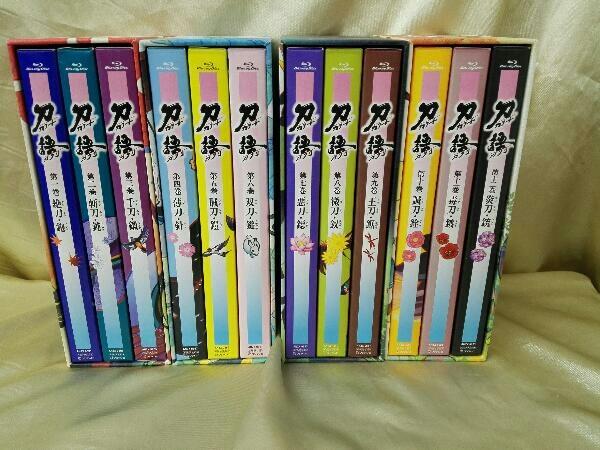 【※※※】[全12巻セット]刀語 第一~十二巻(完全生産限定版)(Blu-ray Disc)_画像1