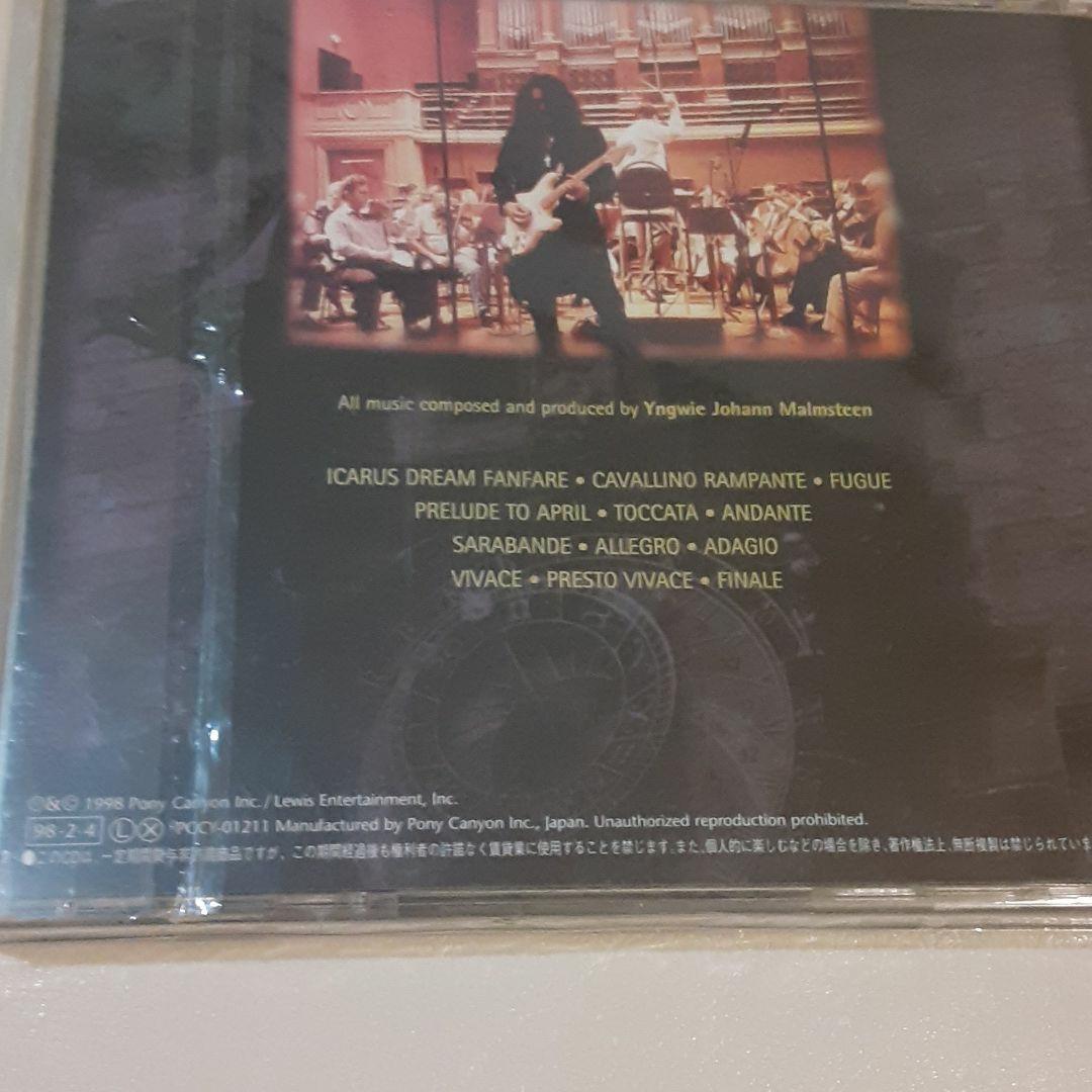 YNGWIE MALMSTEEN CD