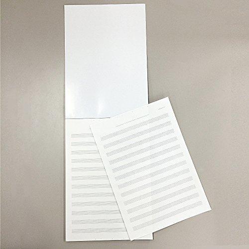 1個 コクヨ ノート キャンパス 音楽帳 レポートタイプ A4 5線譜12段 30枚 オン-70N_画像3