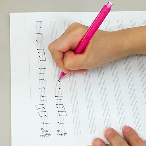 1個 コクヨ ノート キャンパス 音楽帳 レポートタイプ A4 5線譜12段 30枚 オン-70N_画像5