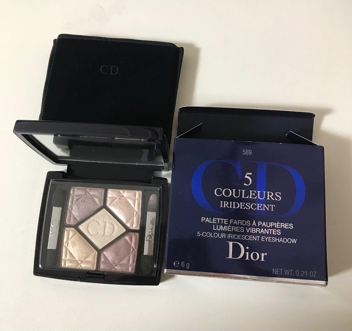 Dior ディオール サンククルール イリディセント 589 GOLDFEVER ゴールドフィーバー アイシャドウ