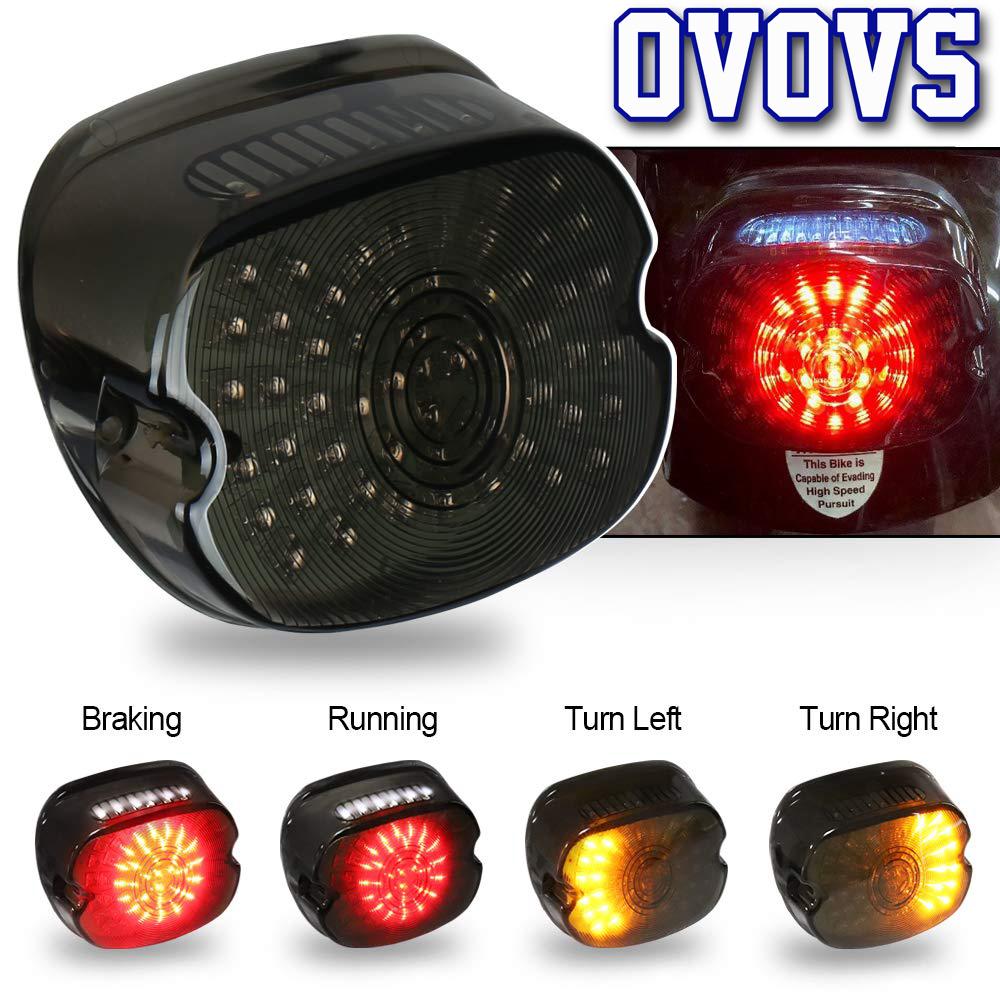 ハーレー LED 12V テール ランプ ライト ブレーキ ウインカー スポーツスター ダイナ FXDL エレクトラ グライド ロードキング _画像2