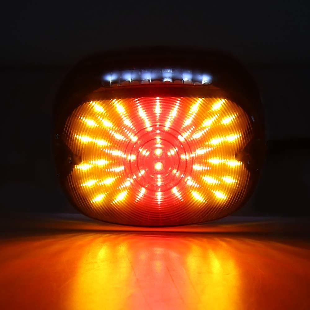 ハーレー LED 12V テール ランプ ライト ブレーキ ウインカー スポーツスター ダイナ FXDL エレクトラ グライド ロードキング _画像7