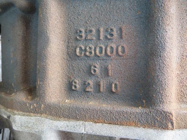 21-12-102  日産 サファリ  FGY60 消防車 TB42S【 マニュアル ミッション 5MT トランスファ PTOレバー  4WD  】 7636km_画像9